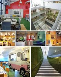 17 inspirational outrageously cool office interiors amazing office interiors