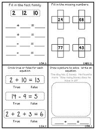 Common Core Math Mini Books FREEBIE!!! - Flying into First Grade