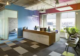 office reception interior. Codewise Office - Reception Interior O