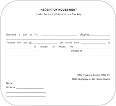 House Rent Receipt Template Gorgeous Payment Receipt Template Doc Flybymediaco