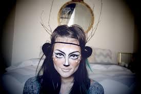 deer makeup via cheapfrillsandthrills awesome diy makeup