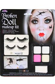 broken doll face make up kit costumes dollmakeup