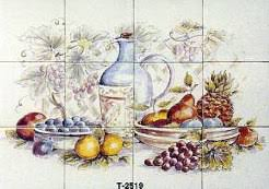 kitchen tiles with fruit design. these kitchen tiles with fruit design c