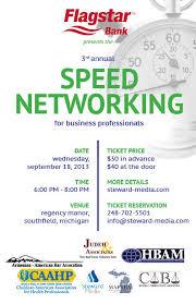 Third Annual Speed Networking Event Steward Media