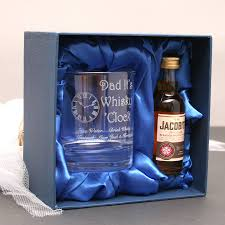 personalised dad s whiskey gift set