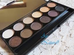 sleek makeup i divine eyeshadow palette au naturel review 601