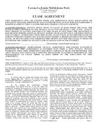 Sample Home Rental Agreement Free Massachusetts Standard Residential Lease Agreement Template ...