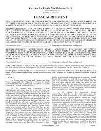 Free Massachusetts Standard Residential Lease Agreement Template ...