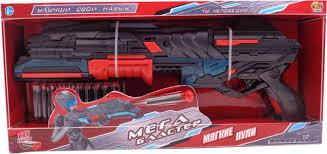 <b>Игрушечное оружие ABtoys Мегабластер</b> Бластер, с мягкими ...