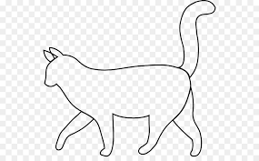 cat drawing outline. Exellent Outline Siamese Cat Outline Silhouette Clip Art  Sleeping Drawing In Cat Drawing