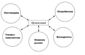 Элементы внешней среды прямого воздействия