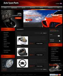 auto parts website template car web theme free templates online