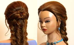 You Tube Hair Style easy hairstyle for long hair tutorial bo braids youtube 2057 by wearticles.com