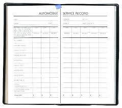 Auto Maintenance Printable Sheet Free Vehicle Log Car