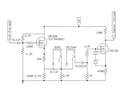 ss fx loop schematic telecaster guitar forum mosfet fx loop jpg