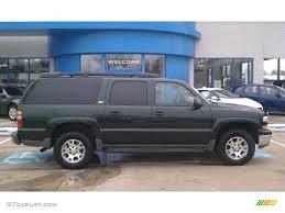 2003 Dark Green Metallic Chevrolet Suburban 1500 Z71 4x4 #45648988 ...