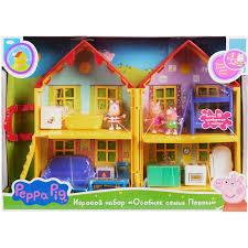 Купить <b>игровой набор Peppa Pig</b> (Свинка Пеппа) Особняк семьи ...