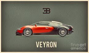 Bugatti posters | fine art america. Bugatti Veyron Poster By Binka Kirova