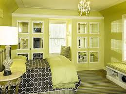 Bedroom colors green Master Bedroom Enchanting Master Green Bedroom Ideas With Mini Crystal Bedroom Chandelier As Well As Built In Wardrobe Mirror With Windows Seater As Well As Green Wall Hashook Enchanting Master Green Bedroom Ideas With Mini Crystal Bedroom