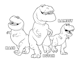 Small Picture the good dinosaur Butch Ramsey Nash coloring pages Kids Coloring