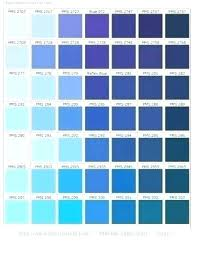 Shades Of Color Blue Chart Shades Of Blue Hair Dye Chart Avalonit