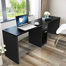 office desk cabinet. Tribesigns Double Workstation Computer Desk With Filing Cabinet \u0026 Drawers,  78 Inch - Length Office Office Desk Cabinet W