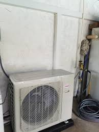 lennox ductless. lennox ductless w/ line hide o