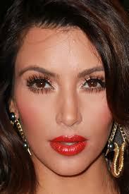 kim kardashian makeup look