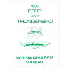 1955 1966 ford thunderbird wiring diagrams wiring diagrams macs thunderbird wiring diagram manual 8 pages 1956