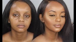 my everyday makeup tutorial darkskin makeup