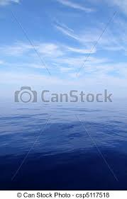 calm blue water. Exellent Calm Calm Sea Blue Water Ocean Sky Horizon Scenics  Csp5117518 Inside Blue Water E