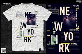 New York City T Shirt Print