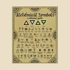 Alchemy Chart Alchemical Symbols Reference Chart