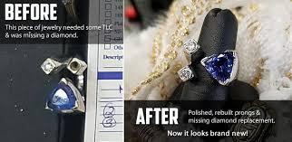 an diamond jewelers repair polish clean
