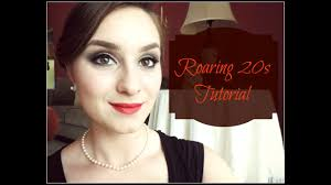 roaring 20s makeup tutorial