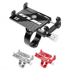 <b>Aluminum Alloy Bicycle Phone</b> Holder Motorcycle Handlebar Mount ...