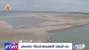 BIG STORY : แล้งหนัก! เขื่อนป่าสักชลสิทธิ์เหลือน้ำ 4 % - YouTube