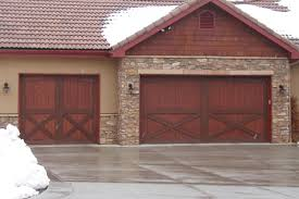 barn door garage doorsWood Garage Door Styles  Options  Denver Boulder Golden Arvada