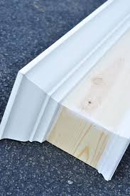 simple window remodelaholic how to build and hang a window cornice inside wood