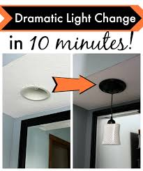 cheap diy lighting. This Cheap Simple DIY Lights Kit Will Amaze You. You Won\u0027t Believe How Easy It Is To Transform Your Canned Pendant In 10 Minutes Or Less. Diy Lighting R