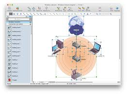 add a wireless network diagram to a ms word document conceptdraw wireless network documentation in ms word