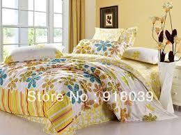 yellow queen bedding.  Yellow Christmas SALE 100COTTON BEDDING SETS Printing Sunflower Bedding Set  Yellow Comforter Queenin Bedding Sets From Home U0026 Garden On Aliexpresscom  Alibaba  Throughout Yellow Queen M