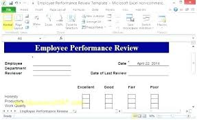 Free Employee Reviews Forms Performance Review Template Download
