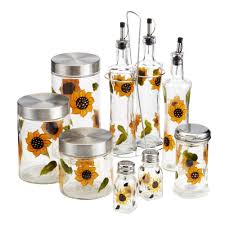 Sunflower Kitchen Handpainted Sunflower Kitchen Accessories Christmas Tree Shops