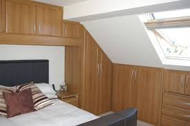 loft conversion furniture. bespoke over bed storage u0026 angled wardrobe to loft conversion in newbury furniture