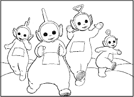 Small Picture Teletubbies Printables Birthday Coloring Coloring Pages