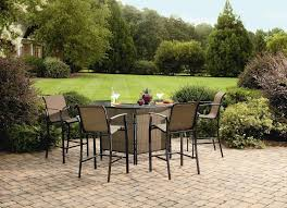 piece set casual patio furniture  furniture the outdoor fabulous outdoor patio bar sets  piece outdoor