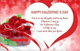 first valentine s day wishes for wife
