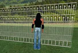 wrought iron privacy fence. Wrought Iron Privacy Fence White For Builders Metal Panels