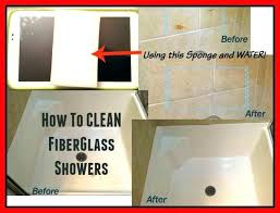 best fiberglass shower cleaner cleaning clean
